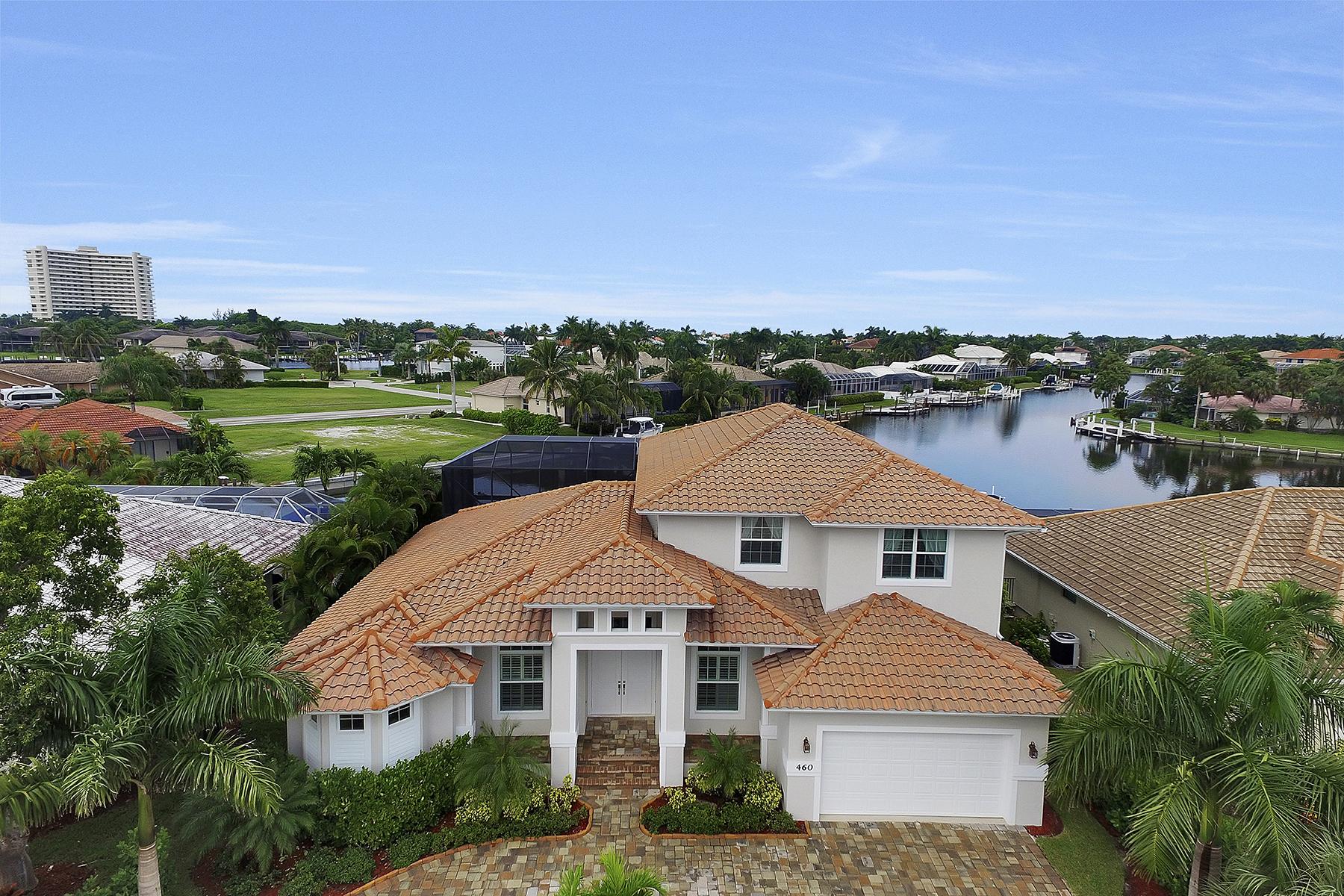 独户住宅 为 销售 在 MARCO ISLAND 460 Century Dr 马可岛, 佛罗里达州, 34145 美国