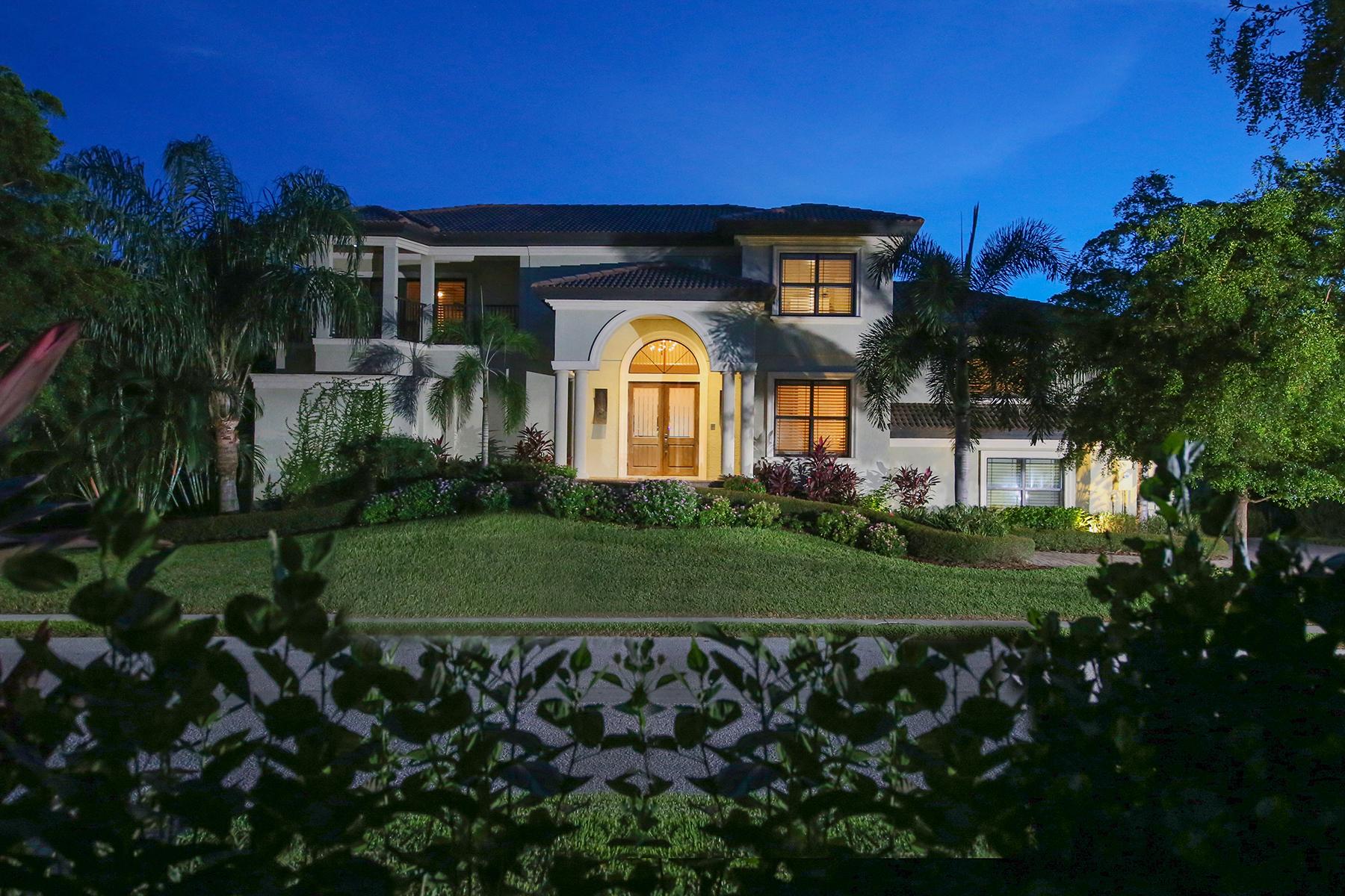 Maison unifamiliale pour l Vente à HARBOUR LANDINGS ESTATES 12510 Baypointe Terr Cortez, Florida, 34215 États-Unis