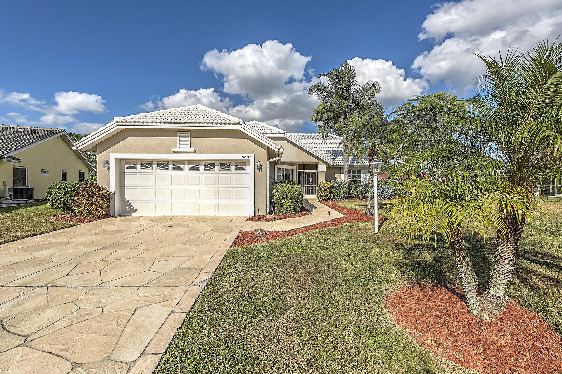 独户住宅 为 销售 在 Naples 5855 Westbourgh Ct 那不勒斯, 佛罗里达州, 34112 美国