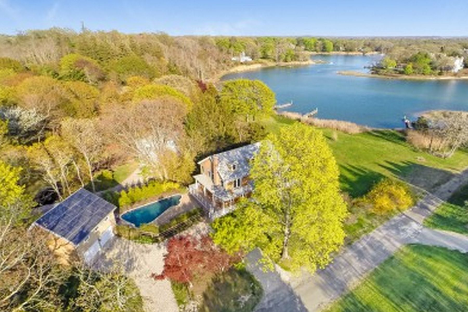 Single Family Home for Active at 1 Landing Lane, Shelter Island, NY 11964 1 Landing Ln Shelter Island, New York 11964 United States