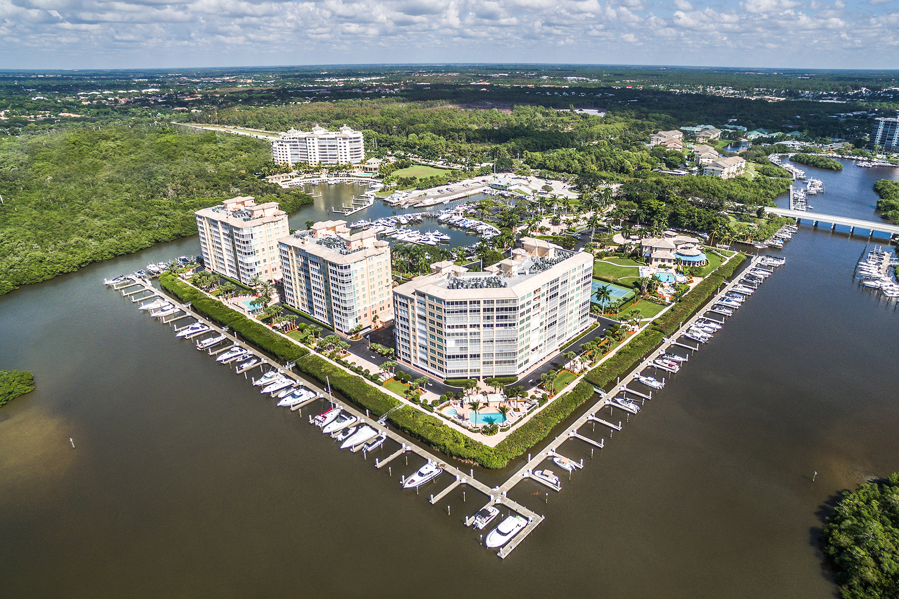 Condominium for Sale at PELICAN ISLE 425 Dockside Dr 406 Naples, Florida, 34110 United States