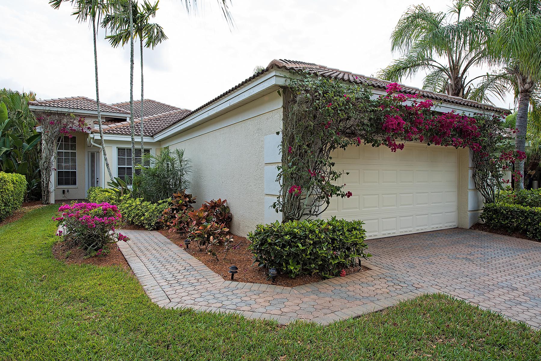 Maison unifamiliale pour l Vente à FIDDLERS CREEK 8591 Pepper Tree Way Naples, Florida, 34114 États-Unis