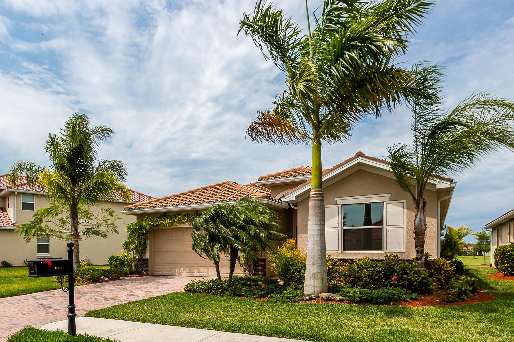 단독 가정 주택 용 매매 에 REFLECTION LAKES 14737 Cranberry Ct Naples, 플로리다, 34114 미국