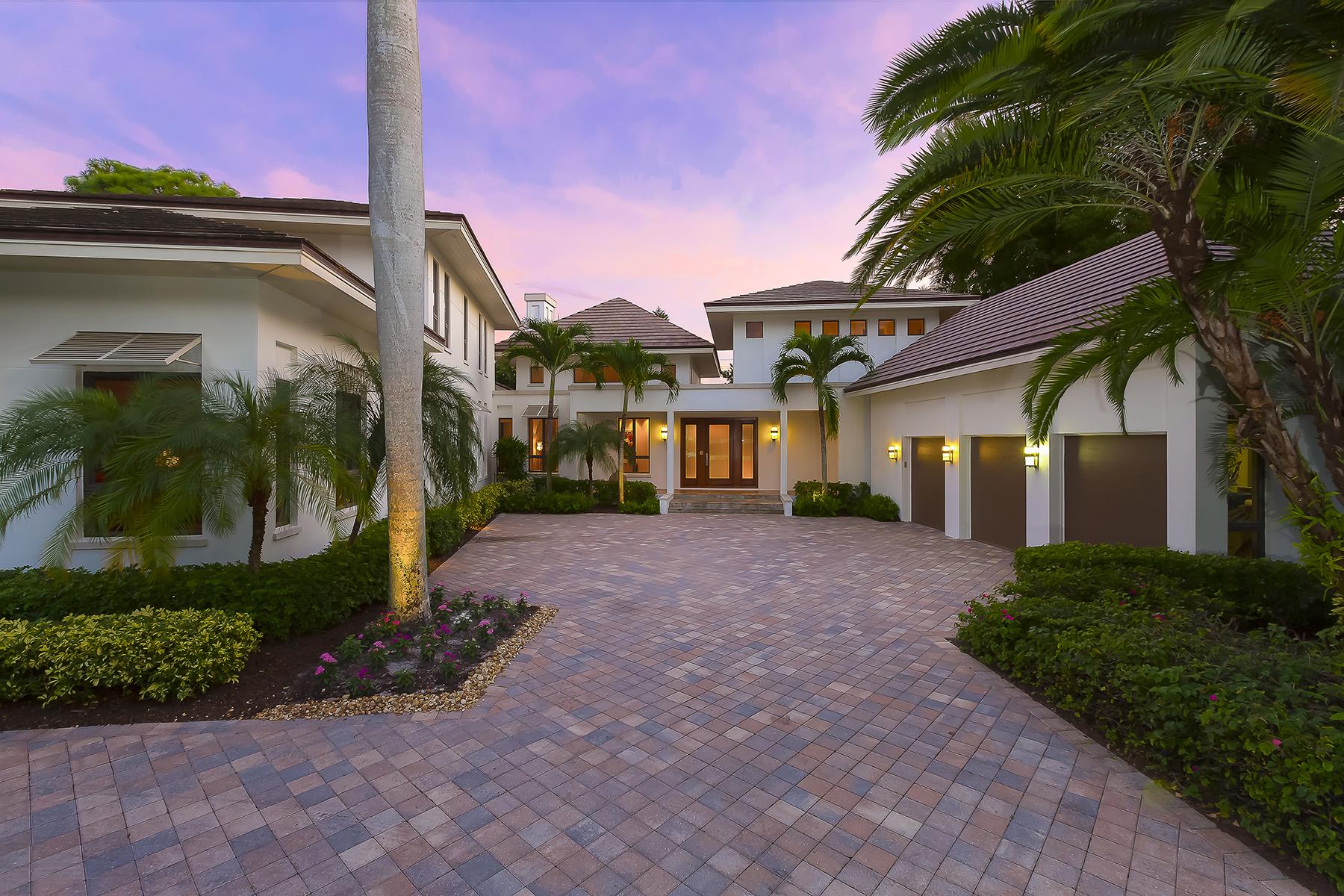 Einfamilienhaus für Verkauf beim COQUINA SANDS 396 Yucca Rd Coquina Sands, Naples, Florida, 34102 Vereinigte Staaten