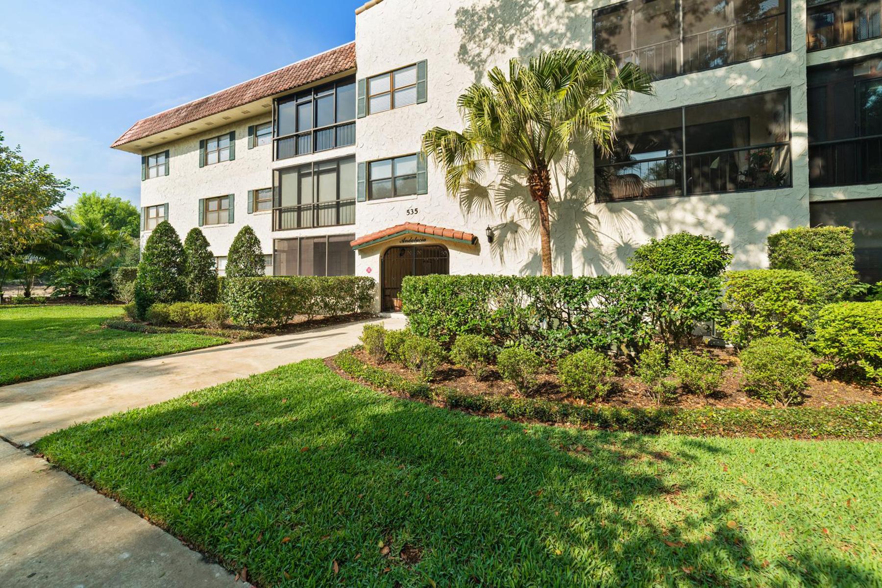 Appartement en copropriété pour l à vendre à 535 N Interlachen Ave , 102, Winter Park, FL 32789 535 N Interlachen Ave 102, Winter Park, Florida, 32789 États-Unis