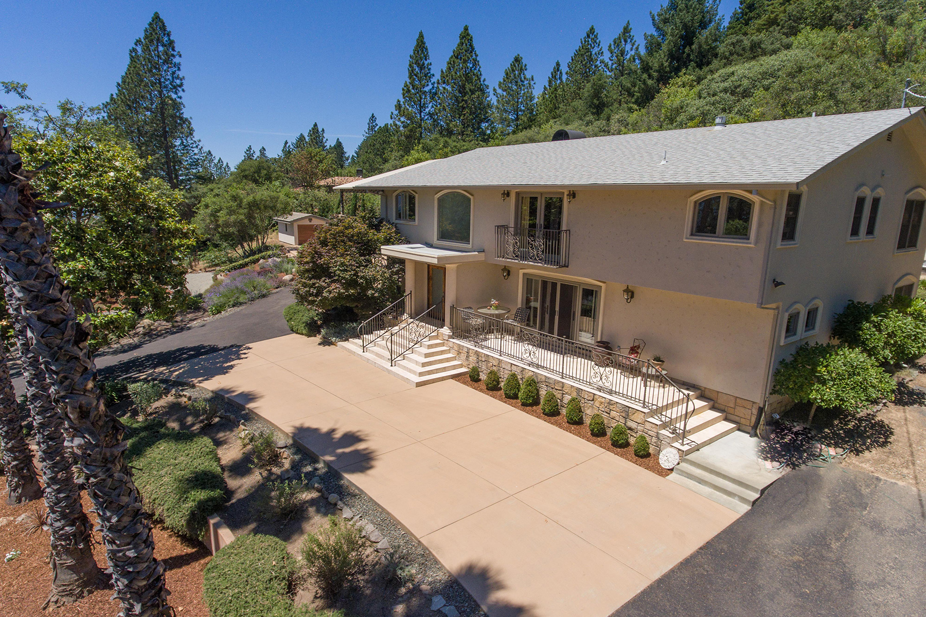 sales property at Howell Mountain Home With Inspiring Valley Views
