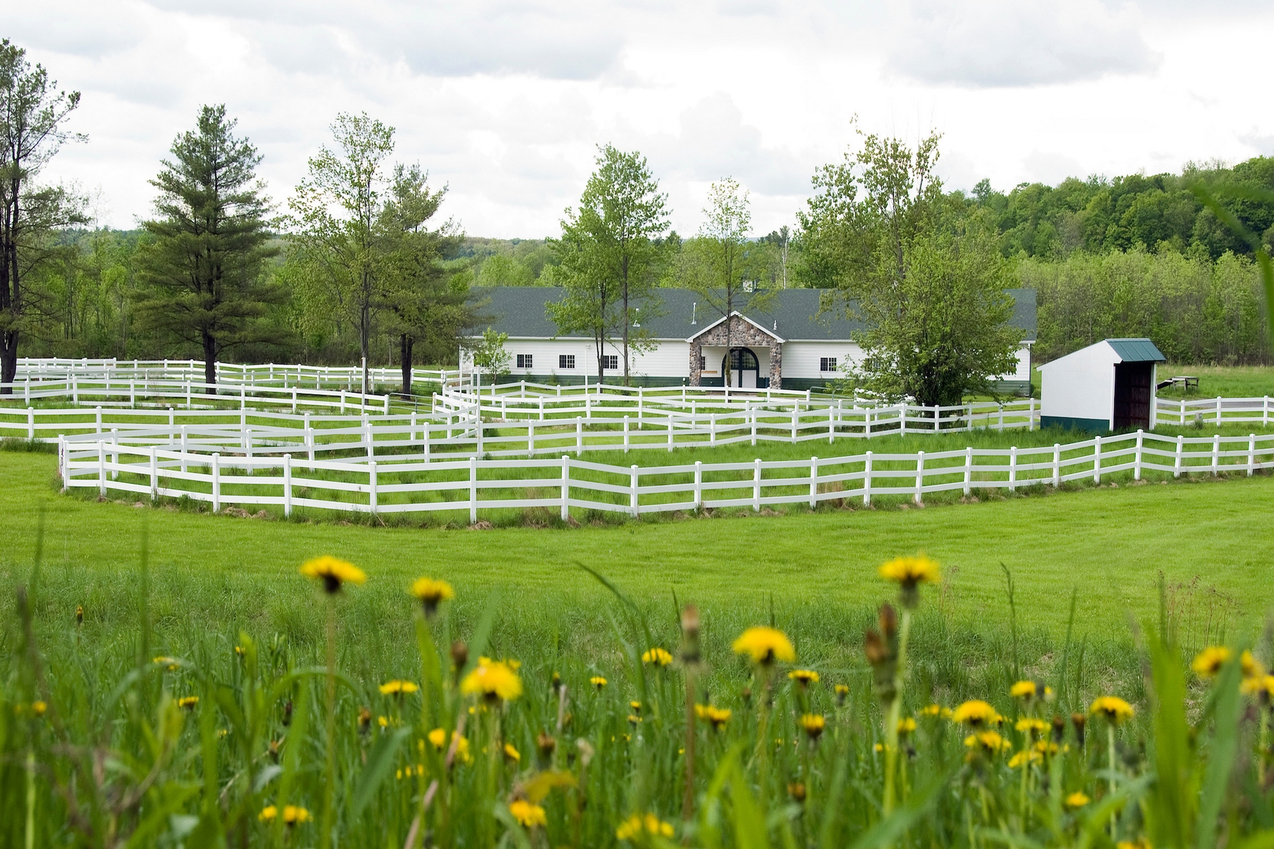 Land for Sale at Winner's Circle Farm 120 Old Post Rd Malta, New York 12020 United States