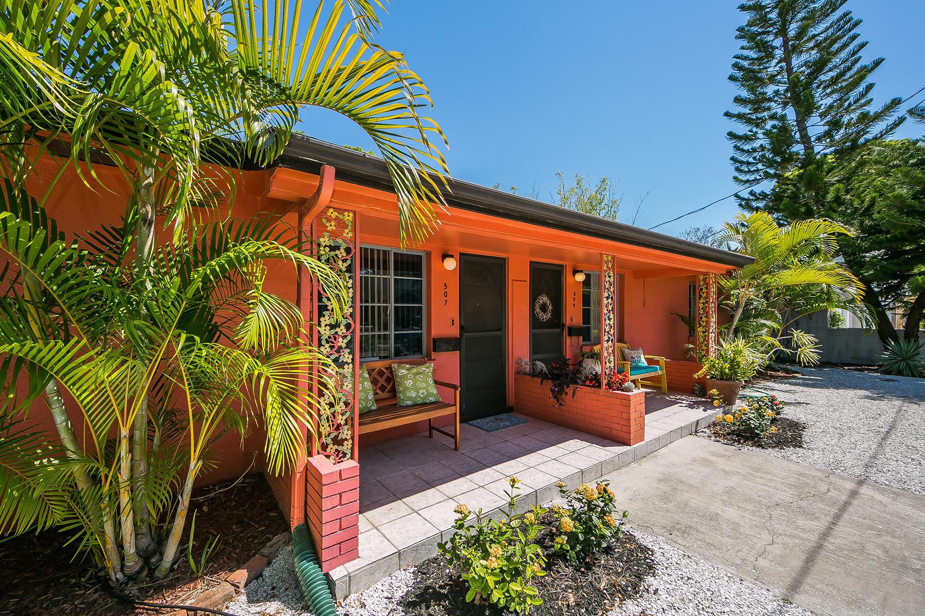 Частный односемейный дом для того Продажа на LAUREL PARK 507 Madison Ct Sarasota, Флорида, 34236 Соединенные Штаты