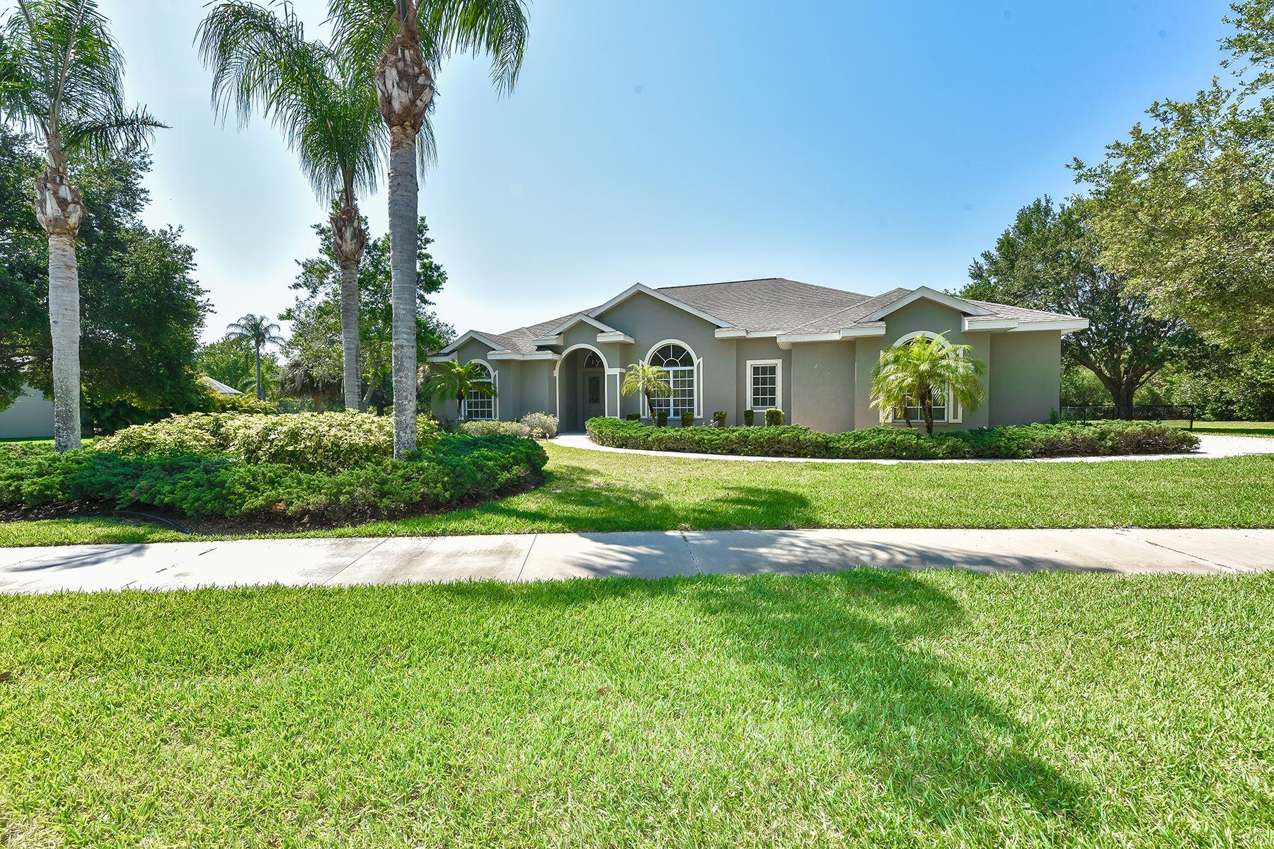Casa Unifamiliar por un Venta en MISSION VALLEY 588 Capistrano Dr Nokomis, Florida, 34275 Estados Unidos