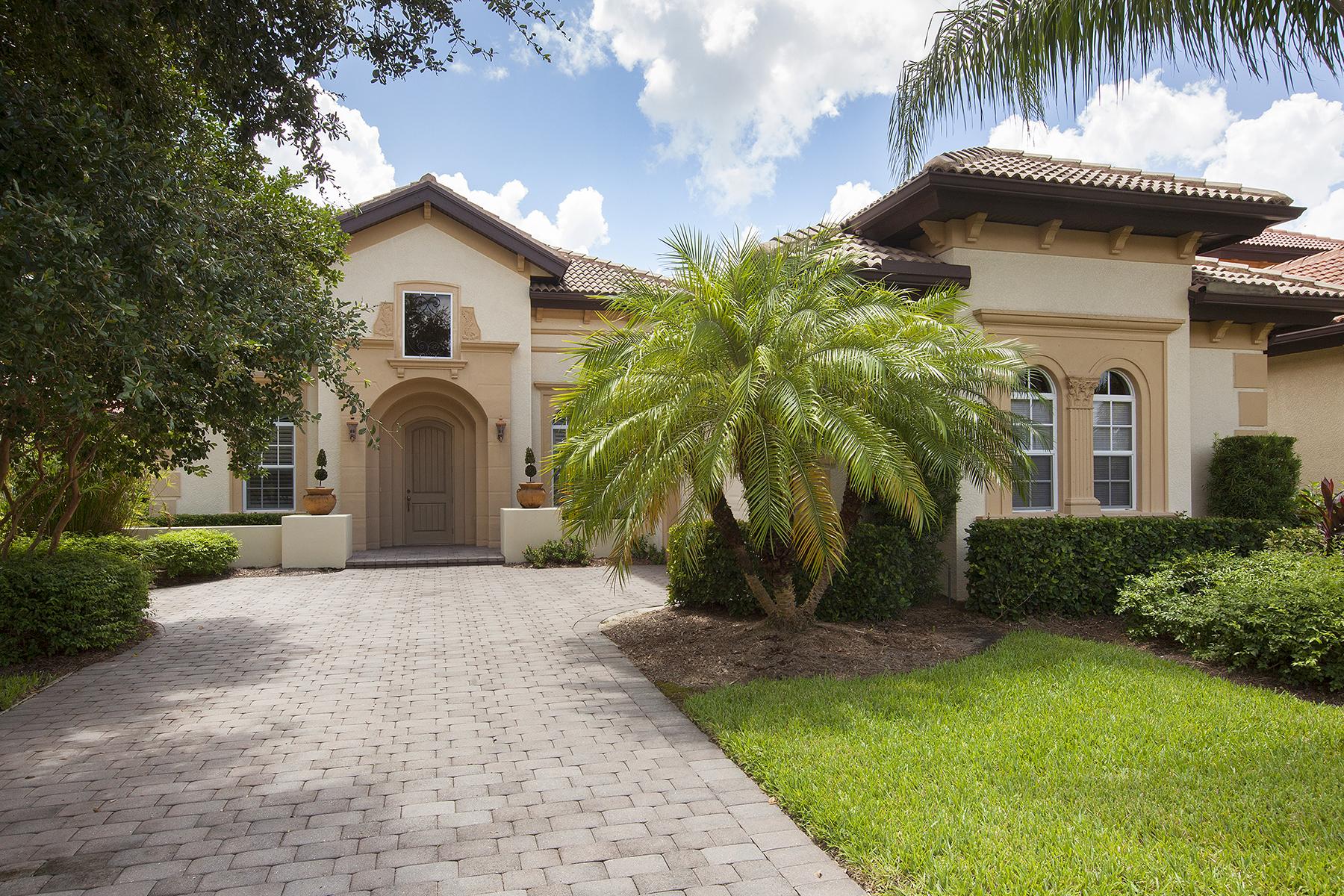 独户住宅 为 销售 在 LELY RESORT 7672 Sussex Ct 那不勒斯, 佛罗里达州, 34113 美国