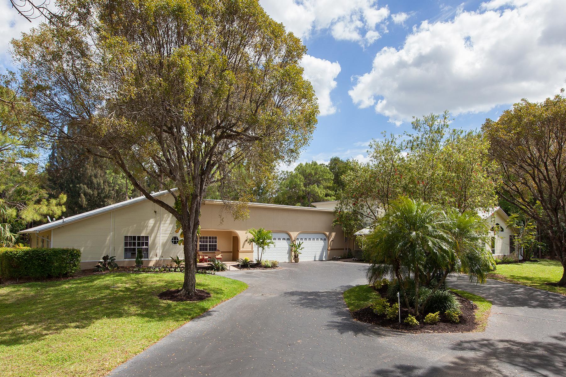 단독 가정 주택 용 매매 에 Naples 6960 Sable Ridge Ln Naples, 플로리다, 34109 미국