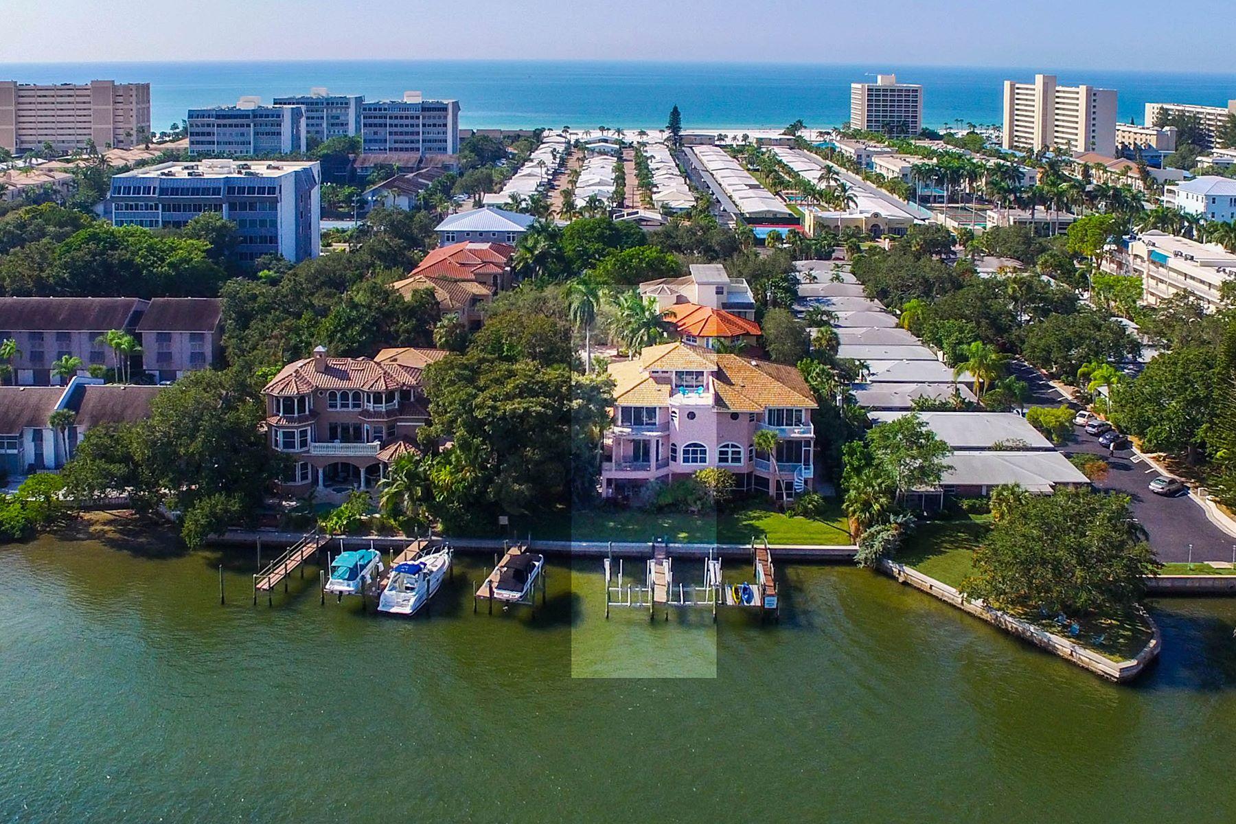Condomínio para Venda às SIESTA KEY 1245 Derby Ln A Sarasota, Florida, 34242 Estados Unidos