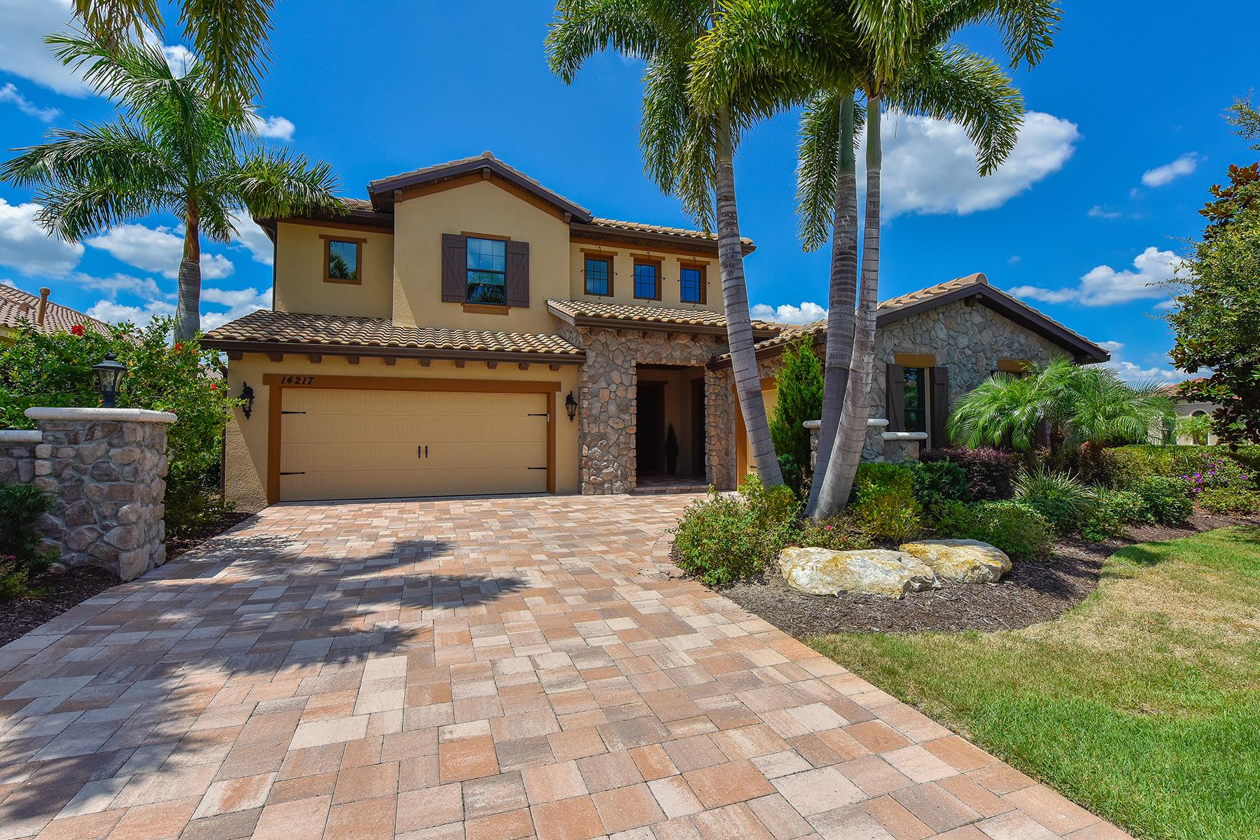 Maison unifamiliale pour l Vente à LAKEWOOD RANCH - COUNTRY CLUB EAST 14217 Bathgate Terr Bradenton, Florida, 34202 États-Unis