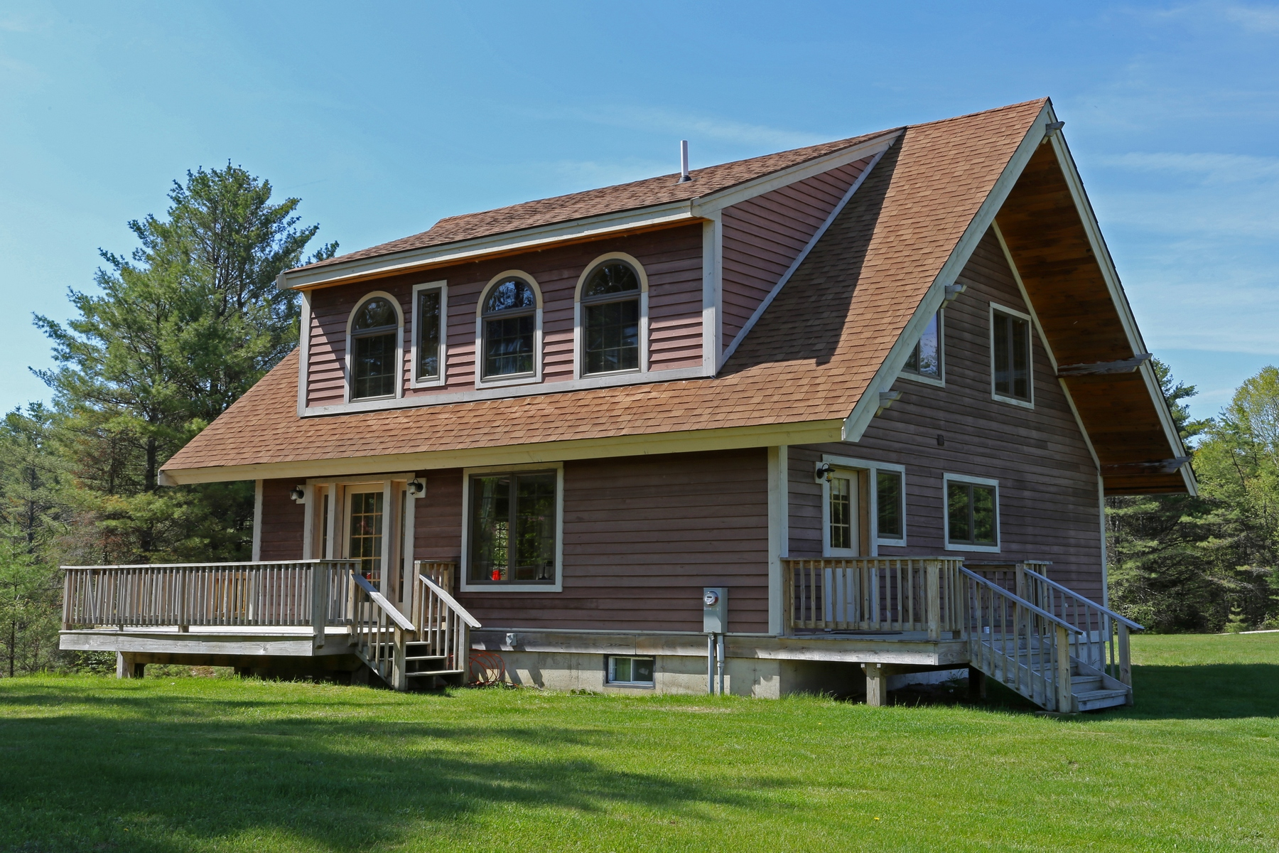 Single Family Home for Sale at New Adirondack Chalet 1205 Harrisburg Rd Stony Creek, New York 12878 United States