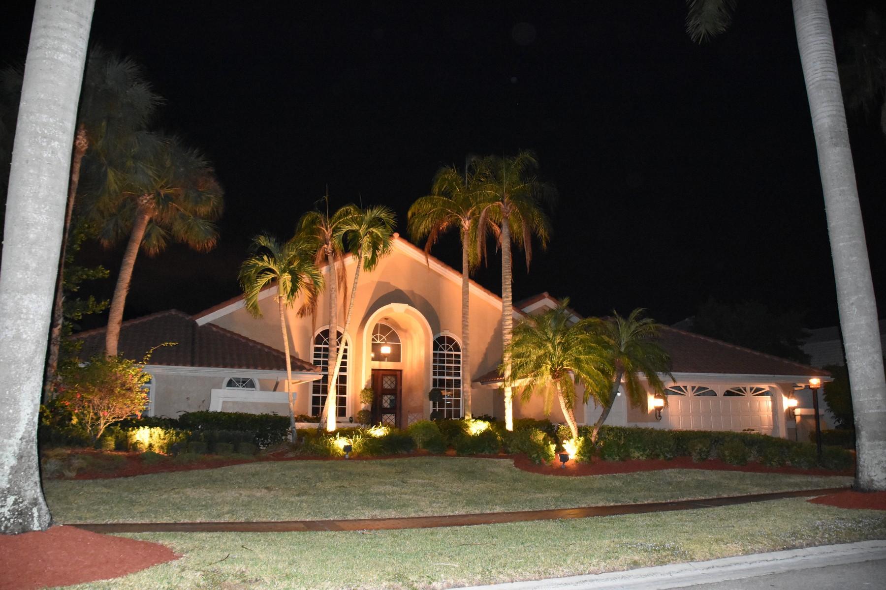 Casa Unifamiliar por un Venta en 17605 Scarsdale Way , Boca Raton, FL 33496 17605 Scarsdale Way Boca Raton, Florida, 33496 Estados Unidos