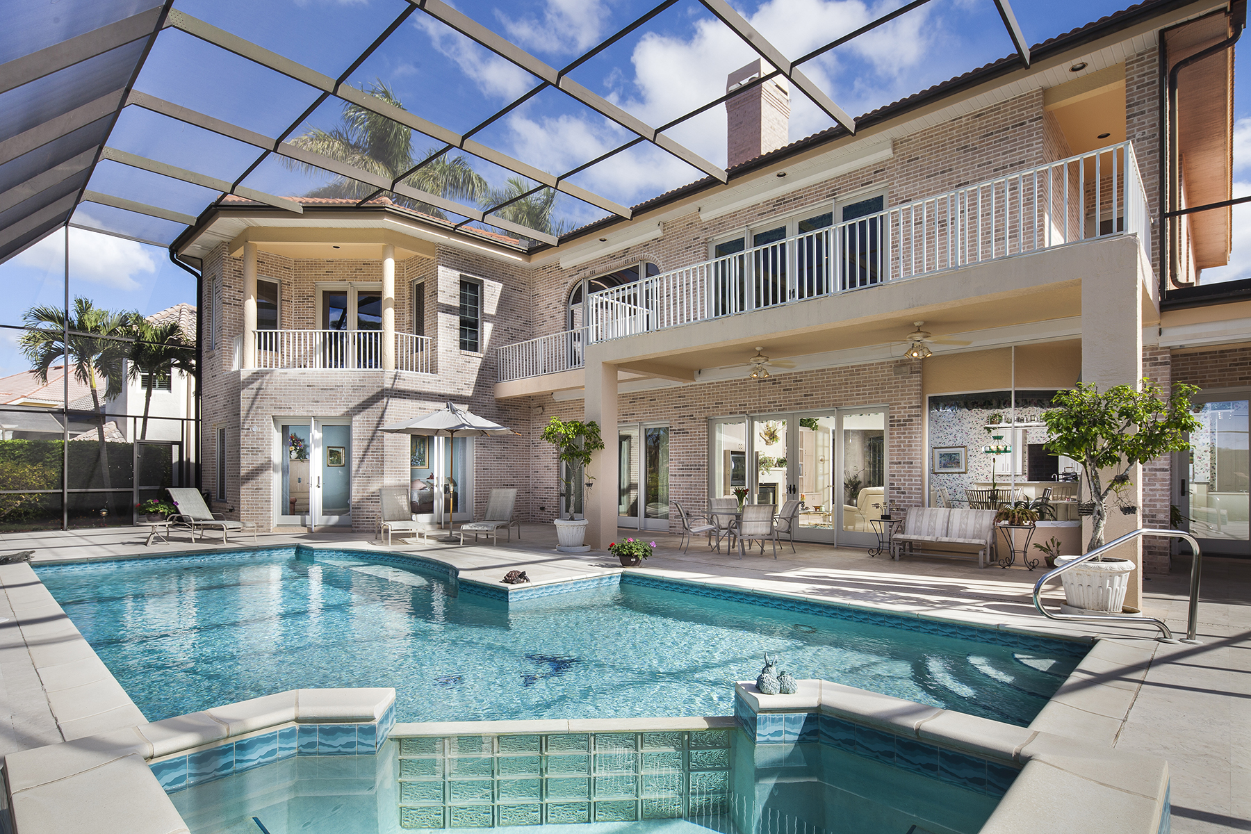 Single Family Home for Sale at PELICAN BAY - BARRINTON 6955 Green Tree Dr, Naples, Florida 34108 United States