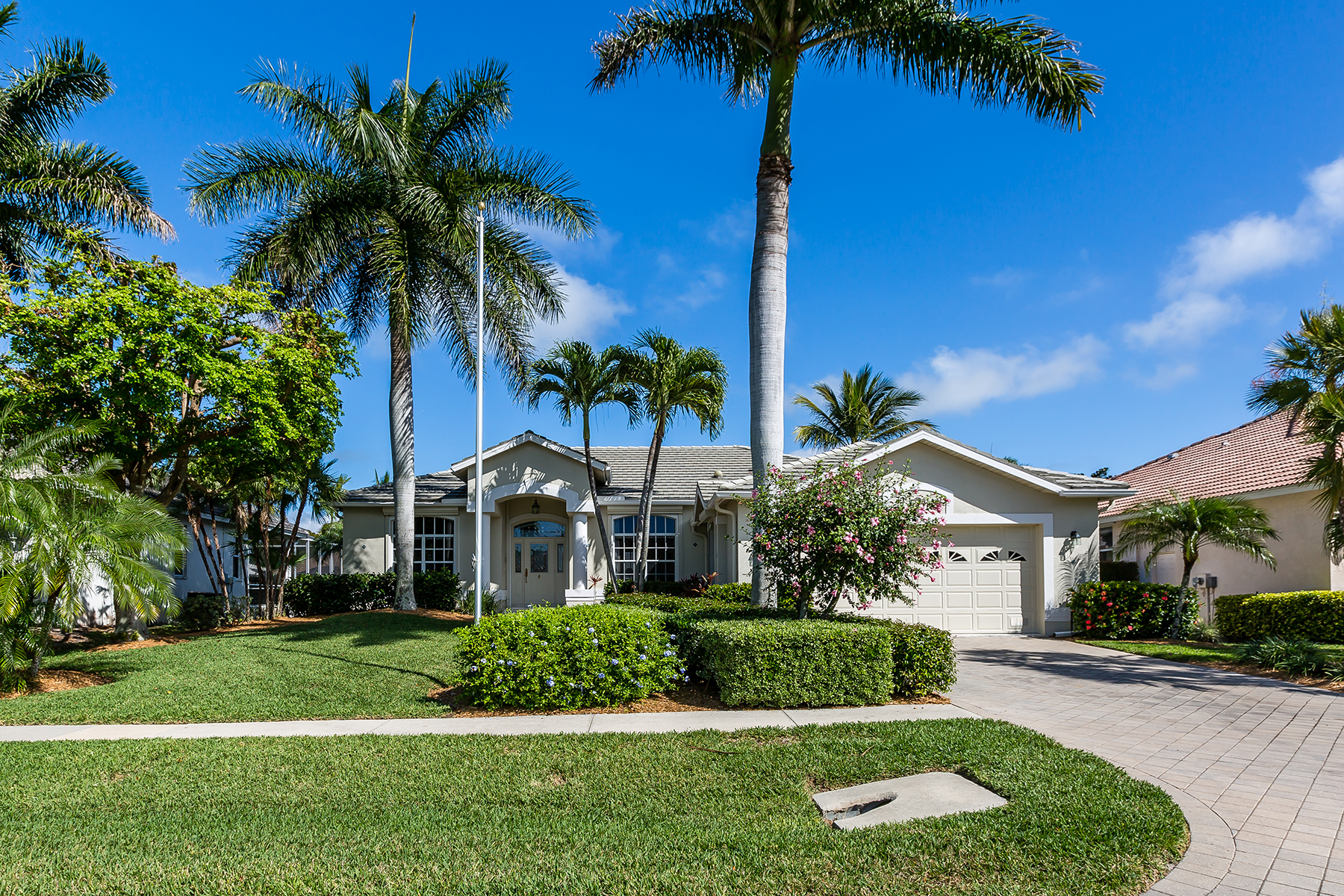 Single Family Home for Sale at MARCO ISLAND 1830 Menorca Ct, Marco Island, Florida 34145 United States