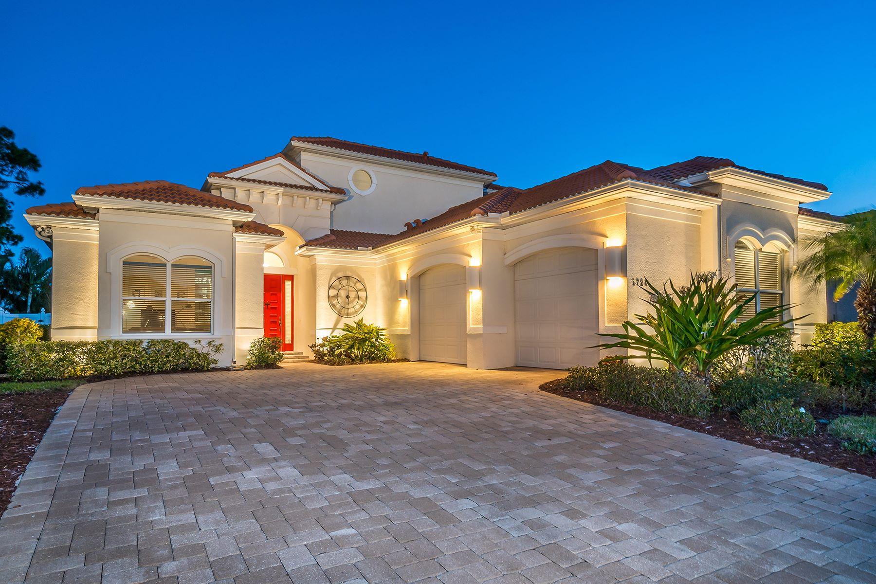 Casa Unifamiliar por un Venta en BOCA ROYALE 1724 Grande Park Dr Englewood, Florida, 34223 Estados Unidos