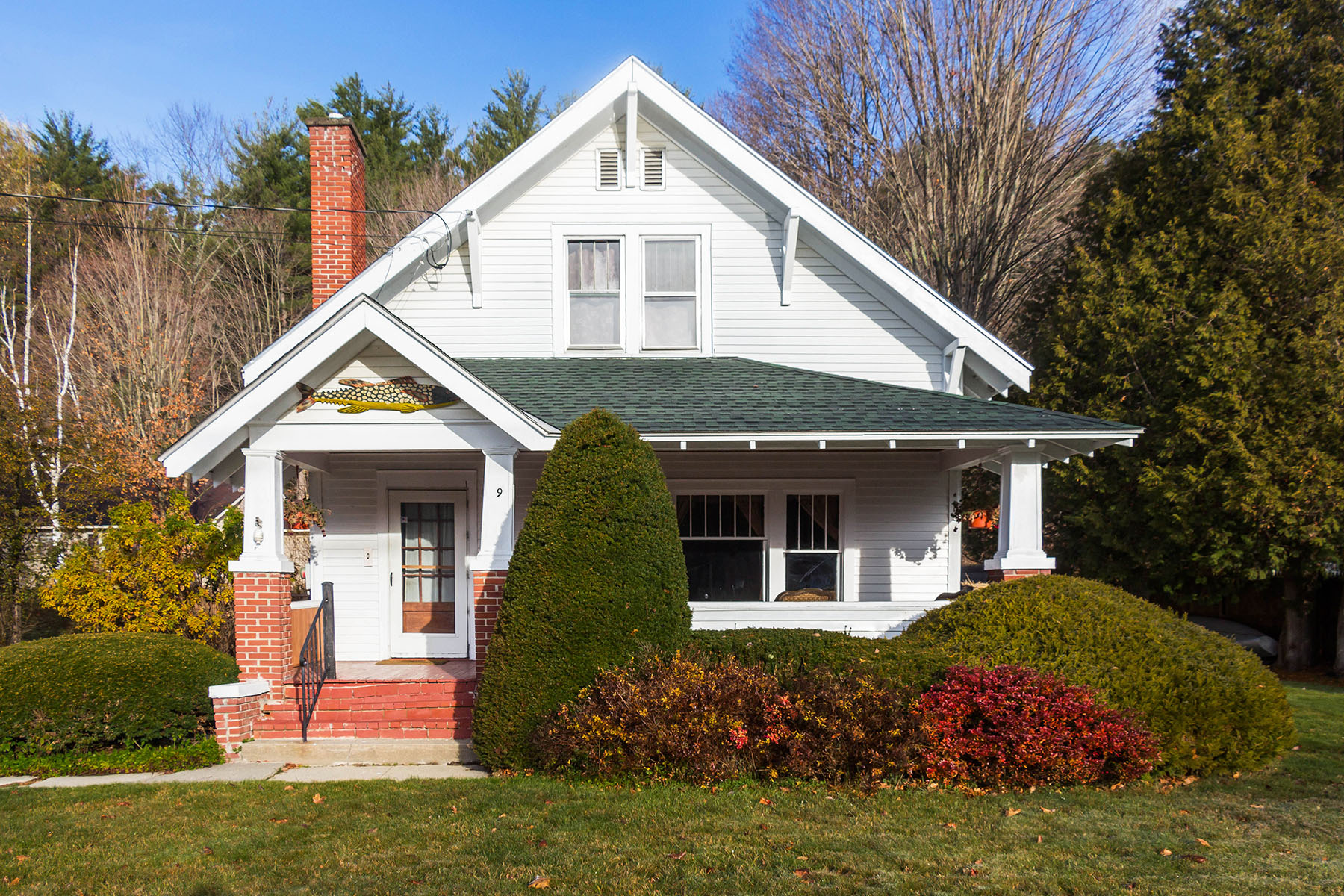 Single Family Home for Sale at Charming Adirondack Bungalow 9 Market St Horicon, New York 12815 United States