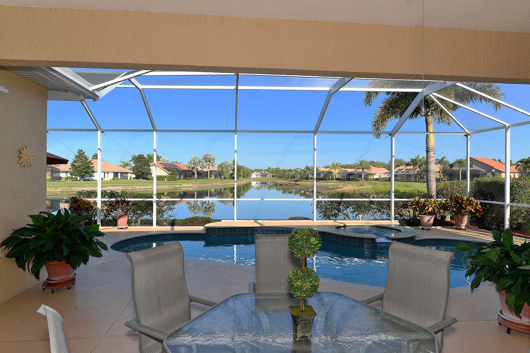 Maison unifamiliale pour l Vente à VENETIA 4411 Via Del Villetti Dr Venice, Florida, 34293 États-Unis