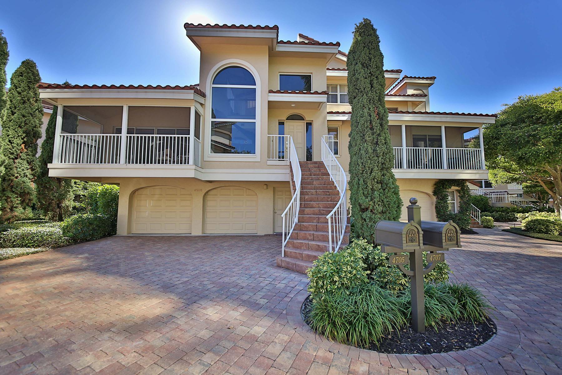 Nhà phố vì Bán tại PARK SHORE - VILLA MARE 4705 Villa Mare Ln Naples, Florida, 34103 Hoa Kỳ