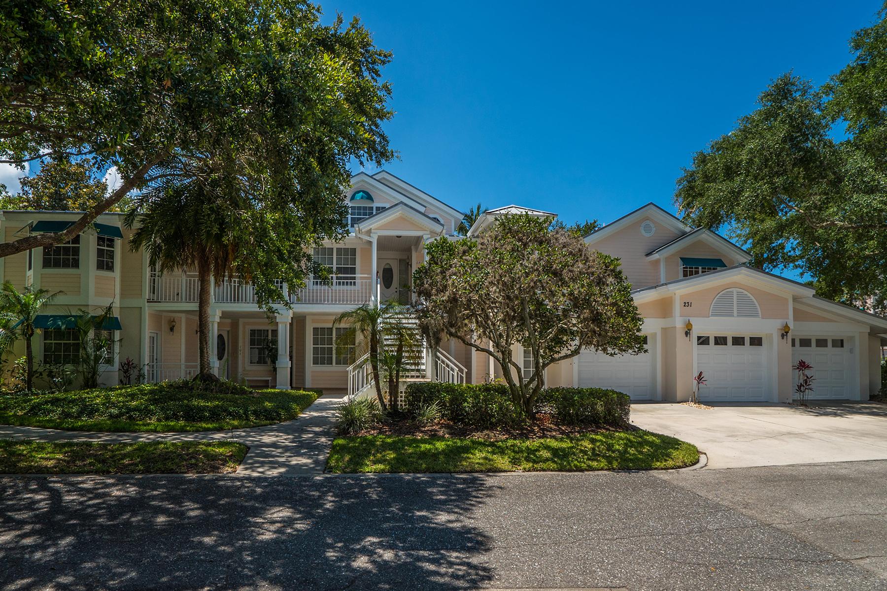Condomínio para Venda às HIDDEN BAY - OSPREY 231 N Hidden Bay Dr 201 Osprey, Florida, 34229 Estados Unidos