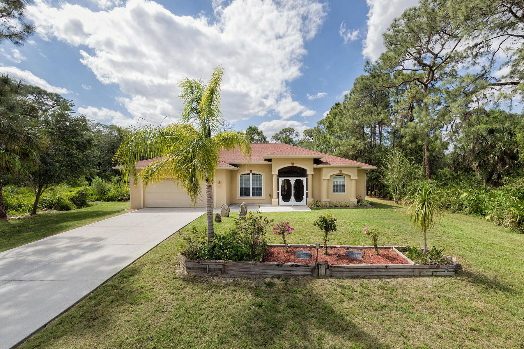 Single Family Home for Sale at NORTH PORT 2817 Zander Terr North Port, Florida 34286 United States