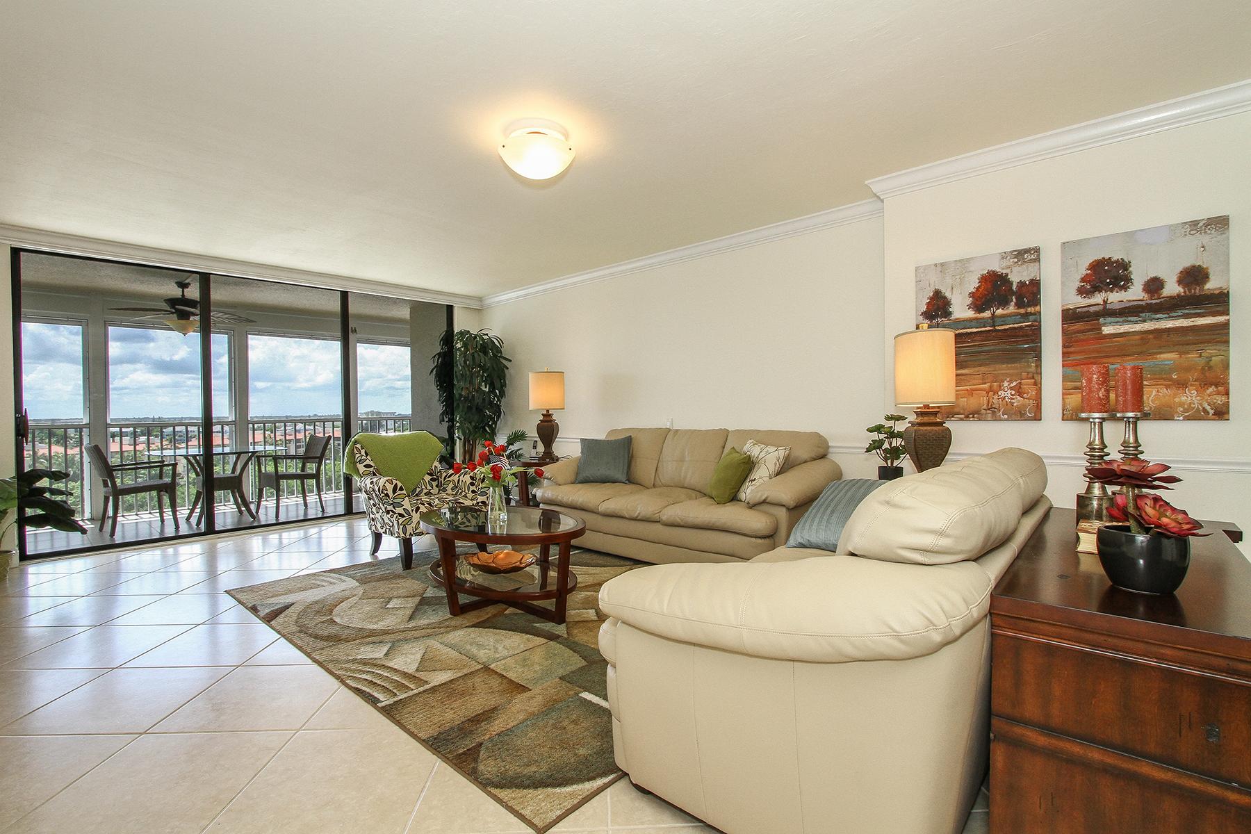 Condominium for Rent at PARK SHORE - MONACO BEACH CLUB 4401 Gulf Shore Blvd N E-908, Naples, Florida 34103 United States
