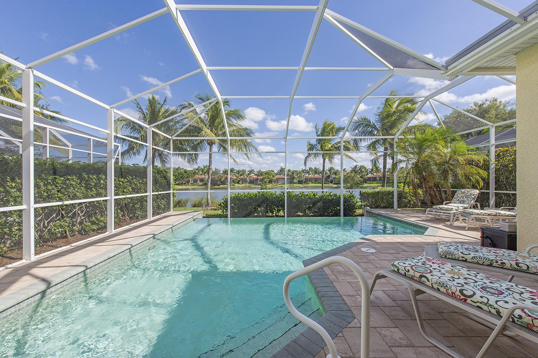 獨棟家庭住宅 為 出售 在 FIDDLERS CREEK 8532 Mallards Pt Naples, 佛羅里達州, 34114 美國