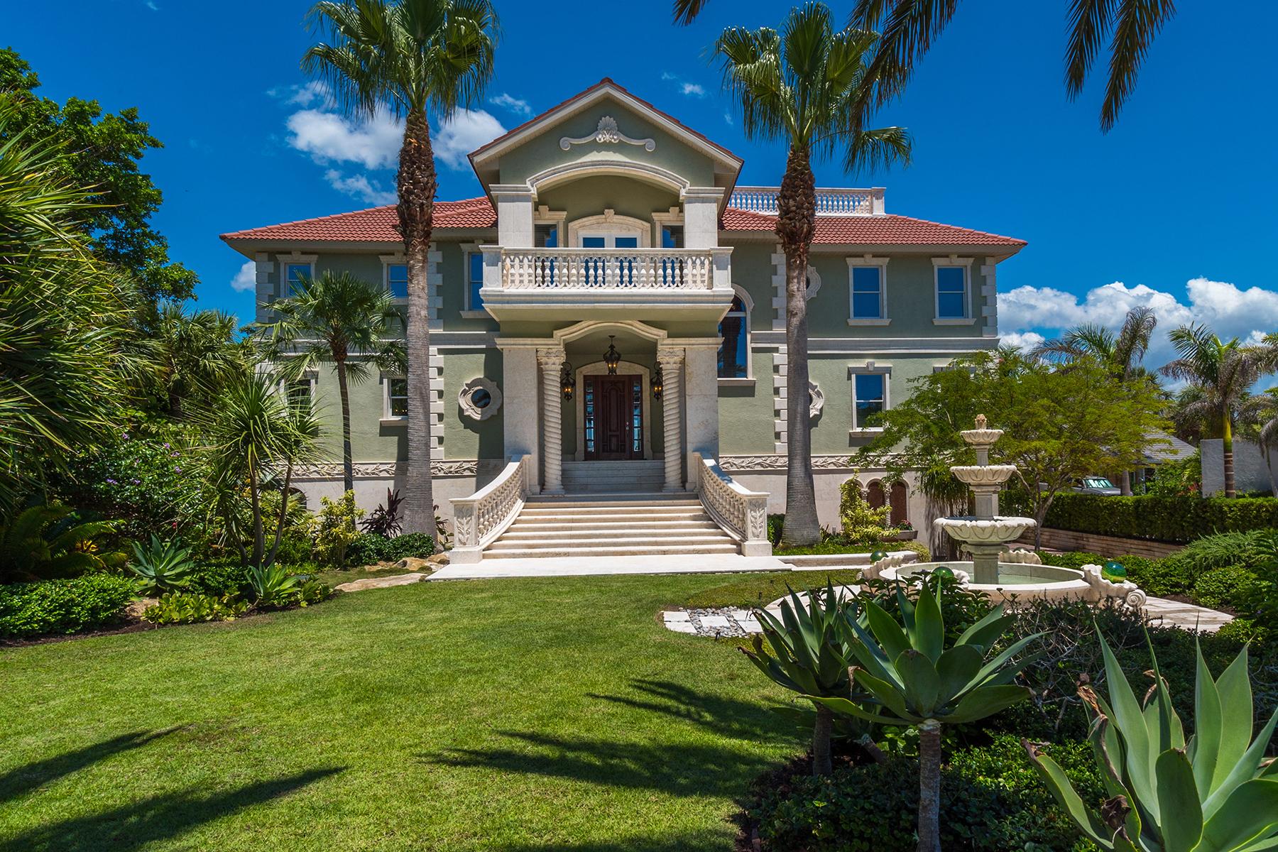 Einfamilienhaus für Verkauf beim CASEY KEY 144 N Casey Key Rd Osprey, Florida, 34229 Vereinigte Staaten