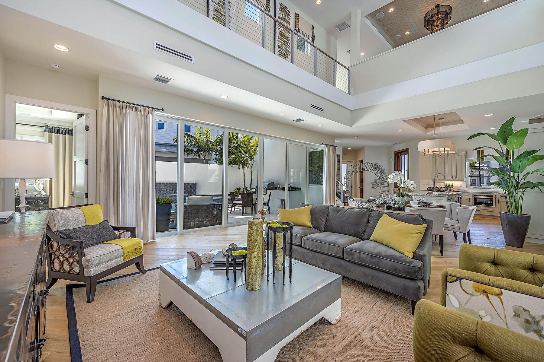 Single Family Home for Sale at RESIDENCES AT MERCATO 9165 Mercato Way, Naples, Florida 34108 United States