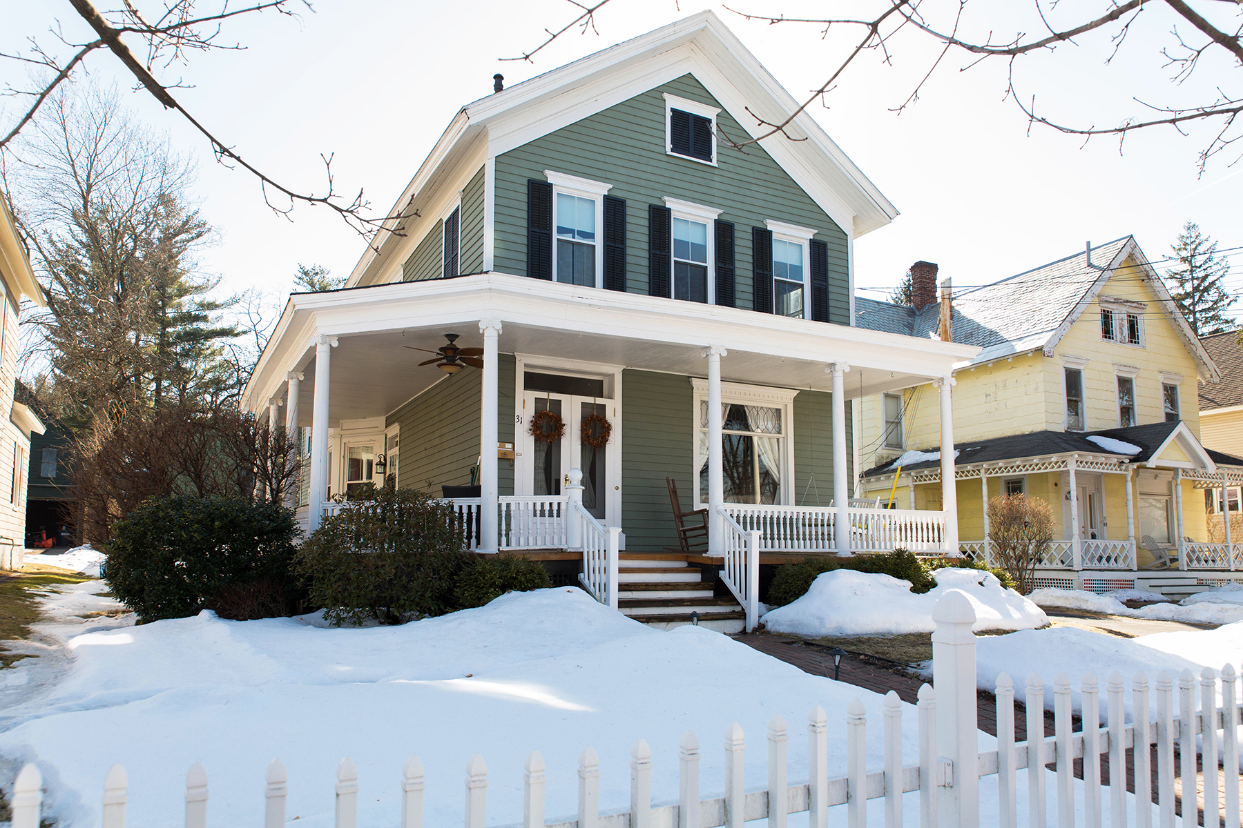 Single Family Home for Sale at 1890's Victorian Classic 31 Mcmaster St Ballston Spa, New York 12020 United States