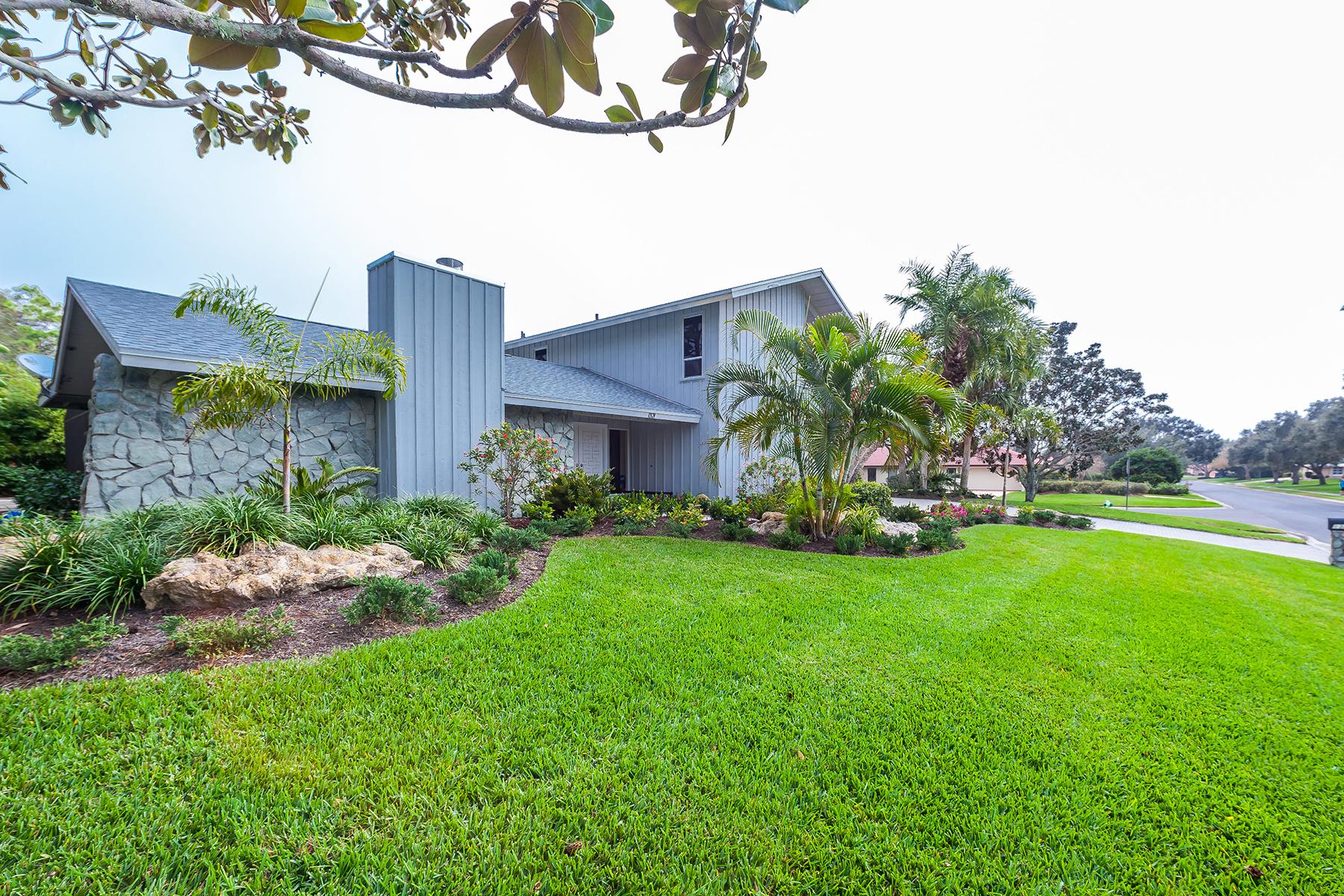 一戸建て のために 売買 アット SOUTHBAY YACHT AND RACQUET CLUB 1321 Southbay Dr Osprey, フロリダ, 34229 アメリカ合衆国
