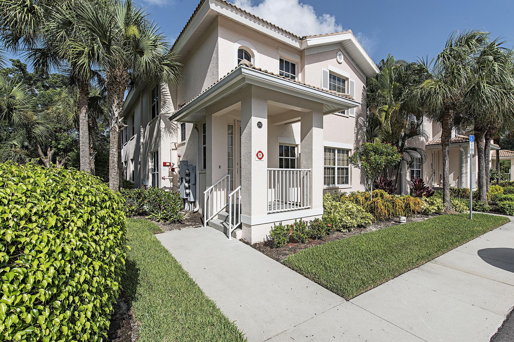 コンドミニアム のために 売買 アット FIDDLERS CREEK 8365 Whisper Trace Way 201 Naples, フロリダ, 34114 アメリカ合衆国