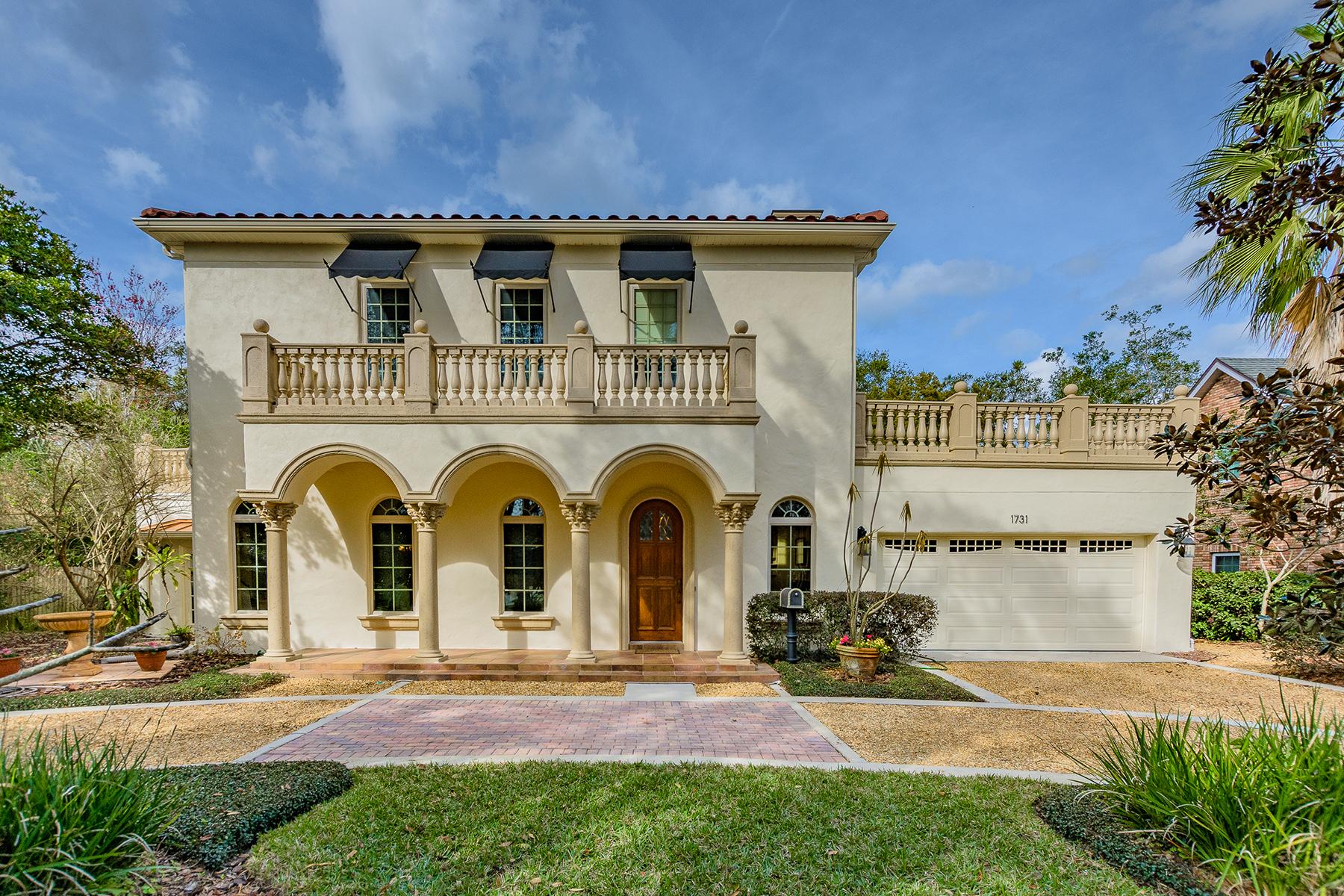 Частный односемейный дом для того Продажа на Winter Park 1731 Windsor Dr, Winter Park, Флорида, 32789 Соединенные Штаты