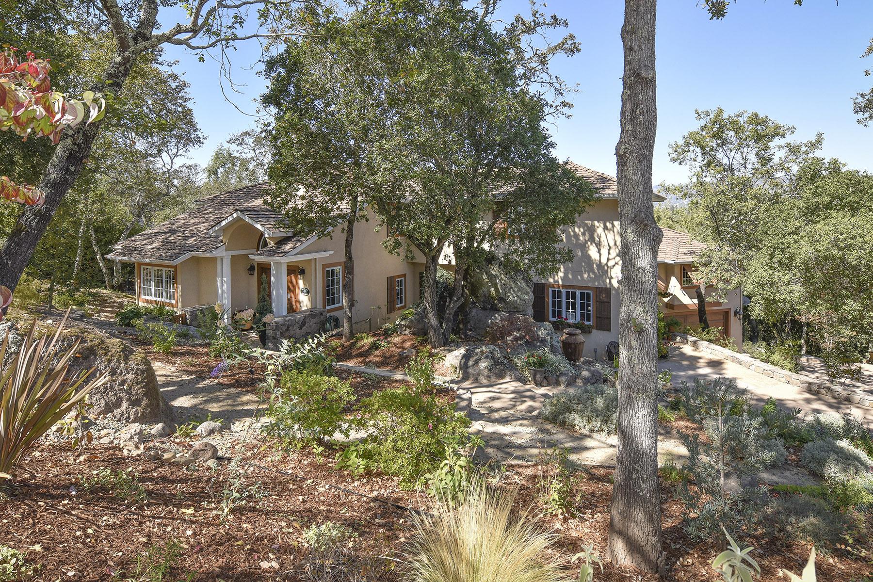 Casa Unifamiliar por un Venta en An Exclusive Hagen Oaks Estate 5 Old Coach Rd Napa, California 94558 Estados Unidos