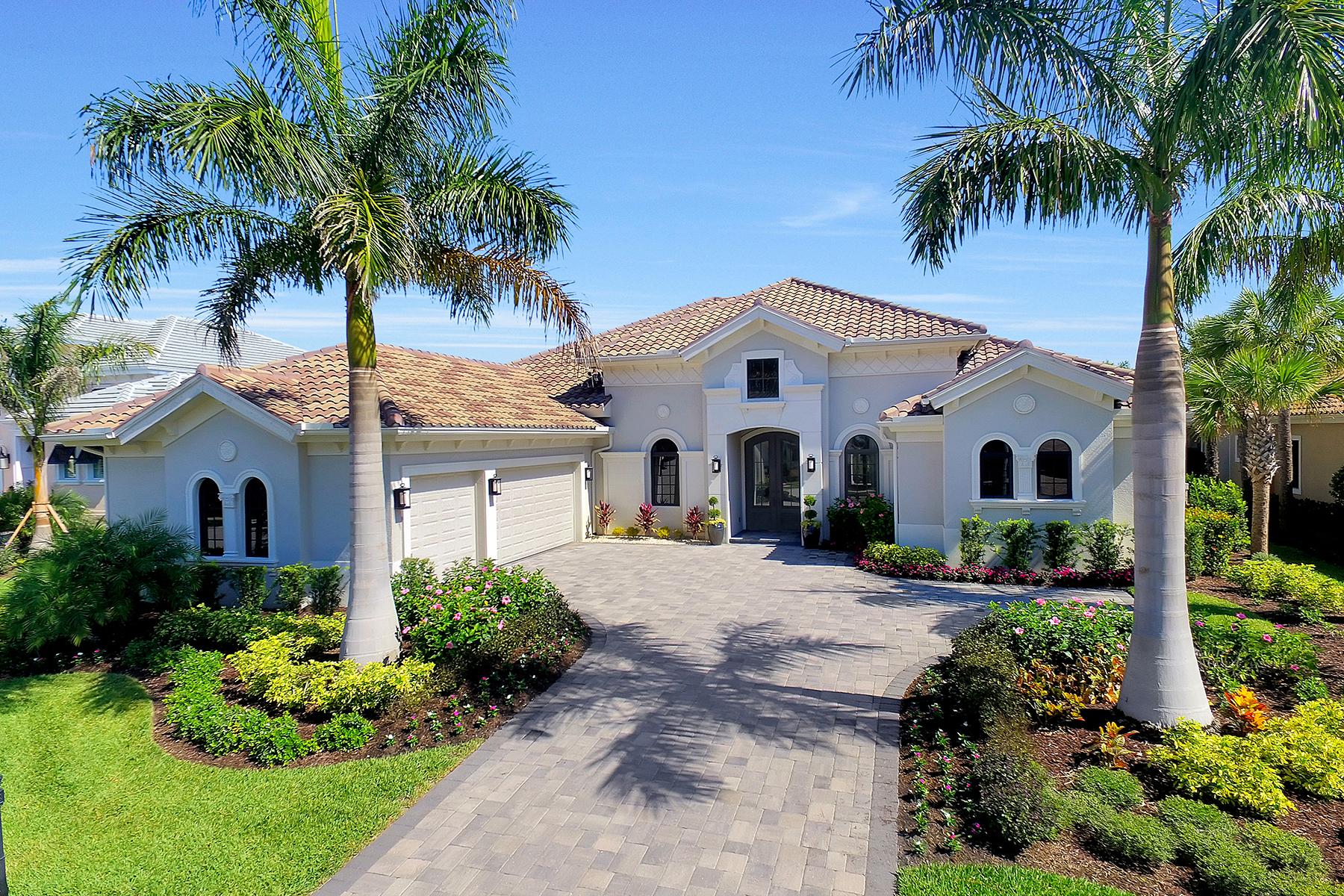 独户住宅 为 销售 在 FIDDLERS CREEK 3737 Mahogany Bend Dr 那不勒斯, 佛罗里达州, 34114 美国