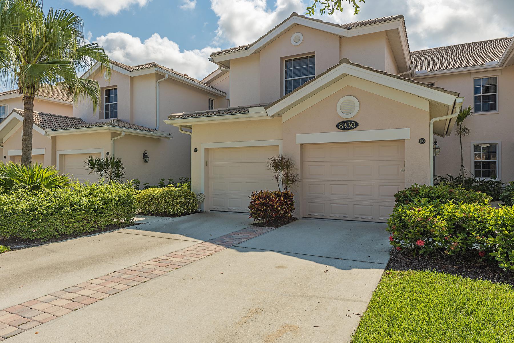 Appartement en copropriété pour l Vente à FIDDLER'S CREEK - WHISPER TRACE 8330 Whisper Trace Way 103 Naples, Florida, 34114 États-Unis
