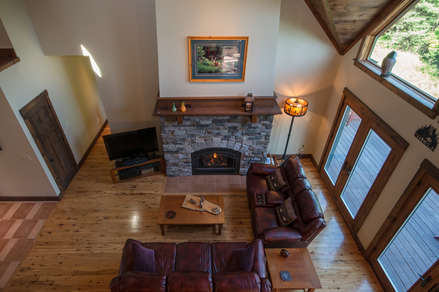 Additional photo for property listing at Custom Adirondack Country Retreat 498  Stickney Bridge Rd Jay, 紐約州 12941 美國