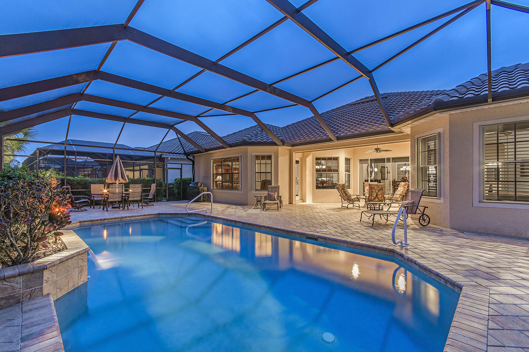 独户住宅 为 销售 在 Twin Eagles 11914 Heather Woods Ct 那不勒斯, 佛罗里达州, 34120 美国