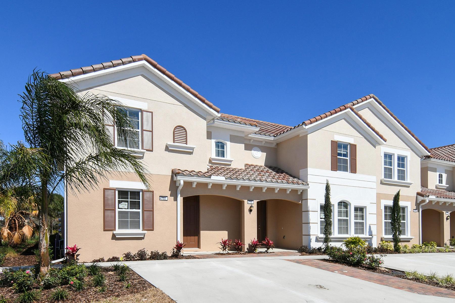 Maison en rangée pour l Vente à 4702 Terrasonesta Dr , Davenport, FL 33837 4702 Terrasonesta Dr Davenport, Florida, 33837 États-Unis