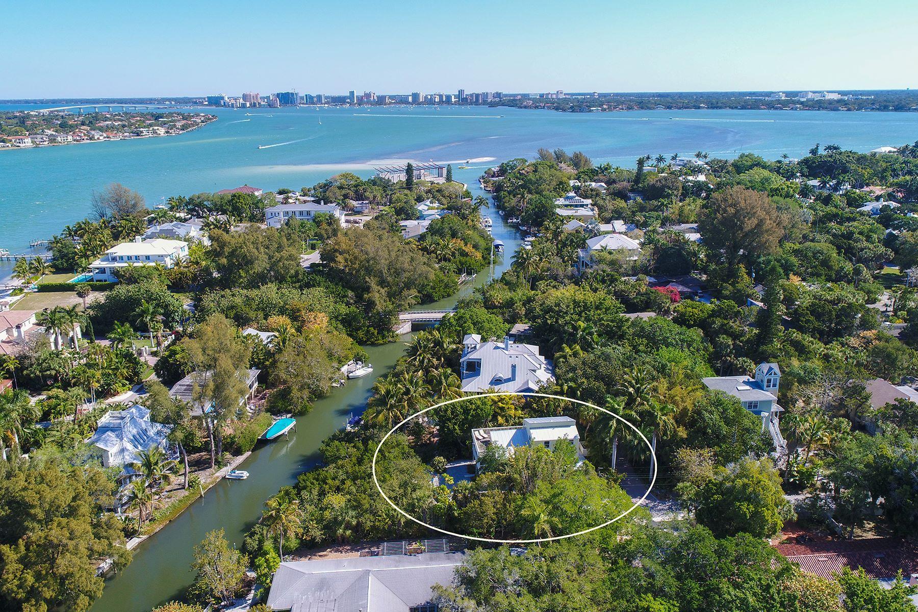 Vivienda unifamiliar por un Venta en SIESTA KEY 111 Faubel St Siesta Key, Florida, 34242 Estados Unidos