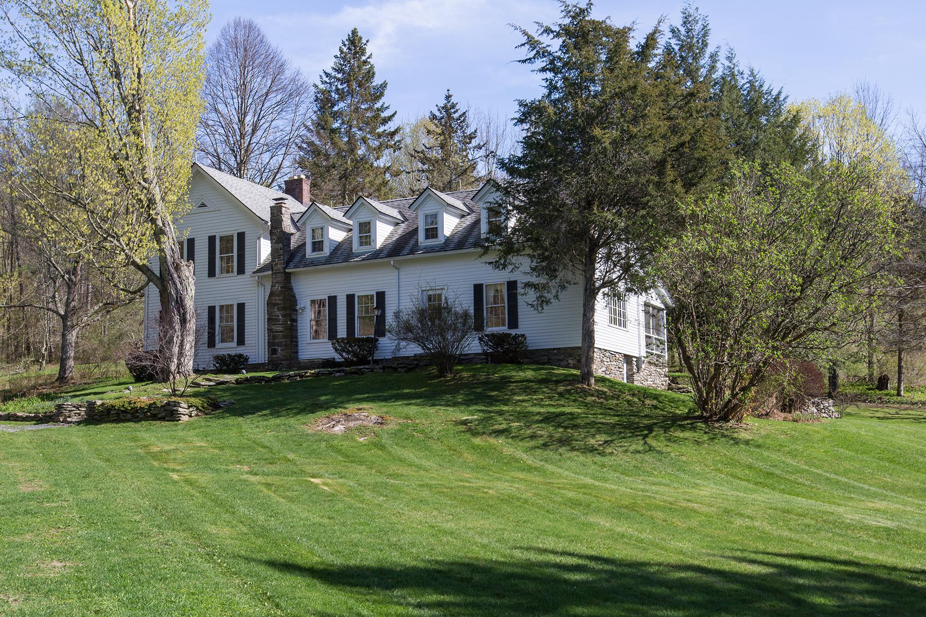 Частный односемейный дом для того Продажа на Butternut Farm 359 Mckie Hollow Rd Cambridge, Нью-Йорк 12816 Соединенные Штаты