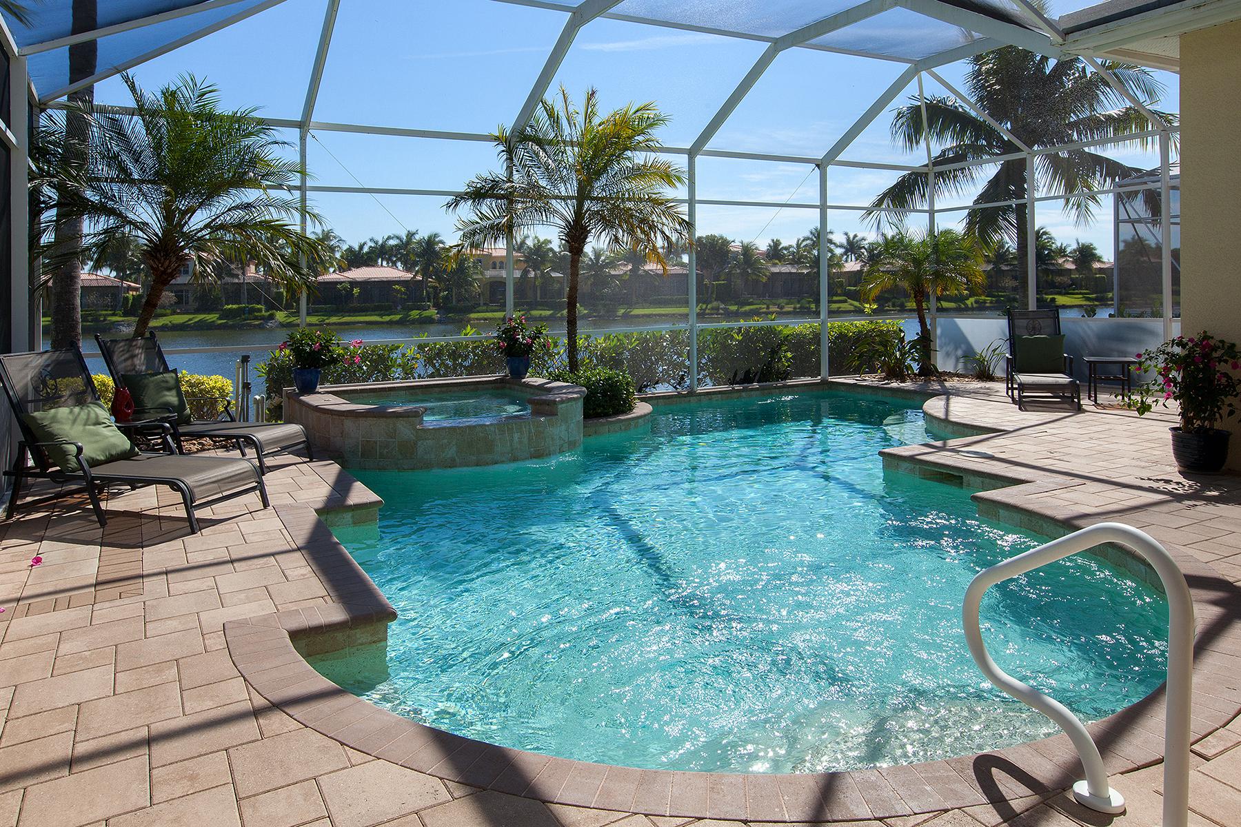 獨棟家庭住宅 為 出售 在 FIDDLER'S CREEK - MALLARD'S LANDING 8520 Mallards Pt Naples, 佛羅里達州, 34114 美國