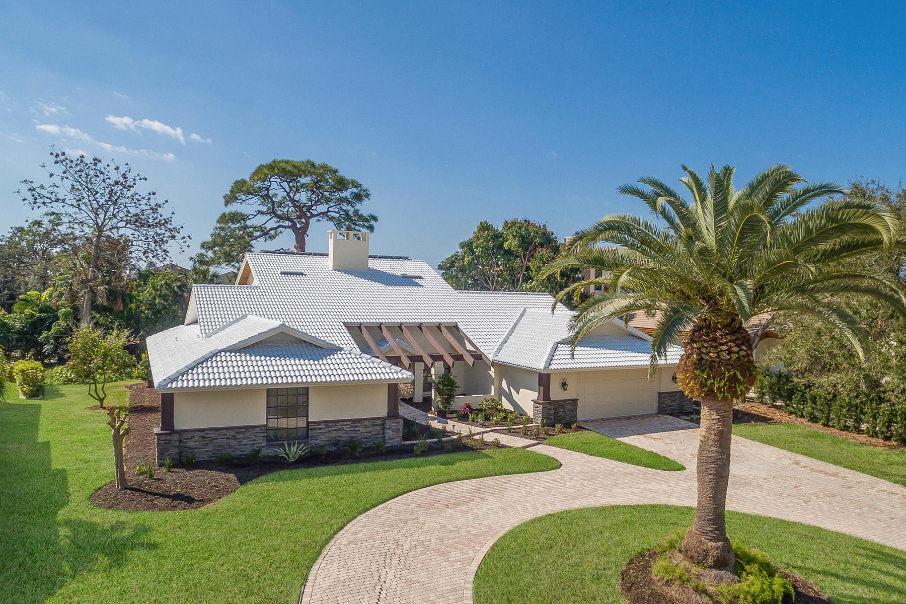 Maison unifamiliale pour l Vente à SOUTHBAY YACHT & RACQUET CLUB 267 Lookout Point Dr Osprey, Florida, 34229 États-Unis
