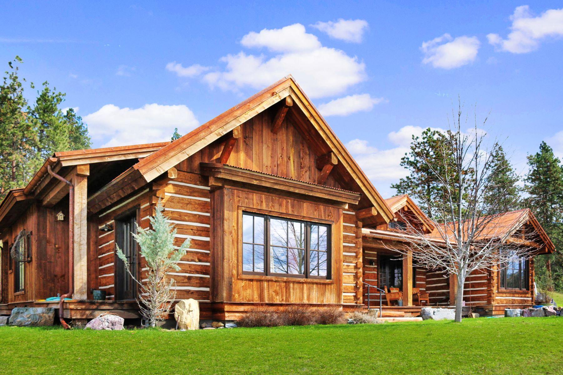 Частный односемейный дом для того Продажа на 62290 Leaping Horse Ln , Saint Ignatius, MT 59865 62290 Leaping Horse Ln St. Ignatius, Монтана, 59865 Соединенные Штаты