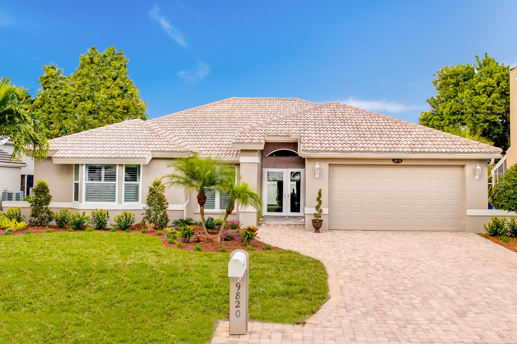 단독 가정 주택 용 매매 에 FORT MYERS 9820 Capstan Ct Fort Myers, 플로리다, 33919 미국