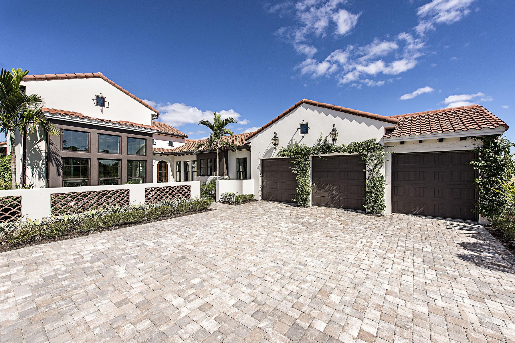 Single Family Home for Sale at FIDDLERS' CREEK - MARSH COVE 3255 Tavolara Ln, Naples, Florida 34114 United States