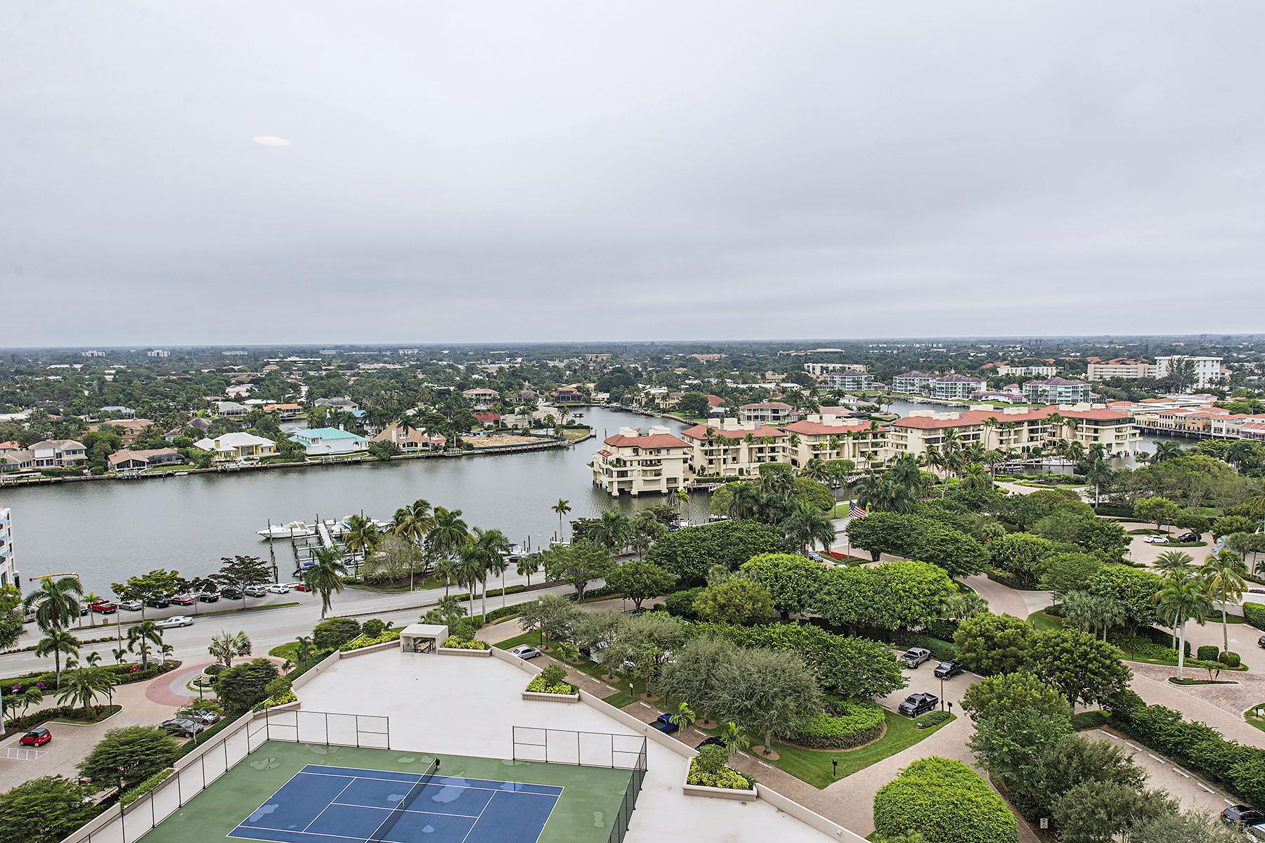 共管式独立产权公寓 为 出租 在 MONACO BEACH CLUB - MONACO BEACH CLUB 4401 Gulf Shore Blvd N D1707, 那不勒斯, 佛罗里达州, 34103 美国