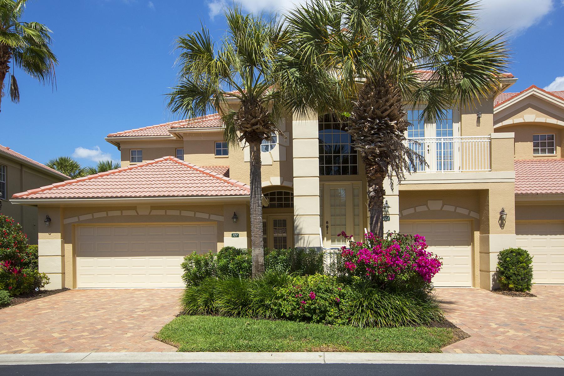 Eigentumswohnung für Verkauf beim SHADOW WOOD AT THE BROOKS - CYPRESS HAMMOCK 9520 Cypress Hammock Cir 101 Estero, Florida, 34135 Vereinigte Staaten